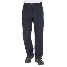 Columbia Silver Ridge - Pantalon convertible homme - bleu/noir